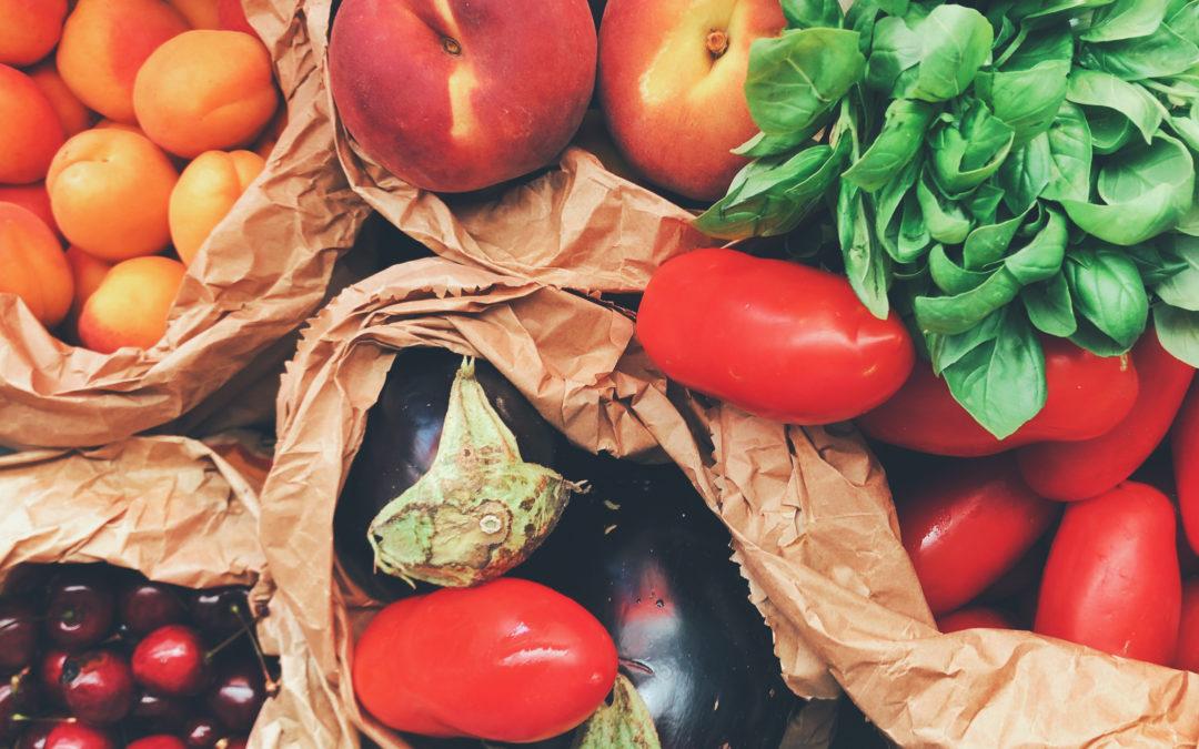 Estate: più frutta e verdura per sfidare il clima rovente